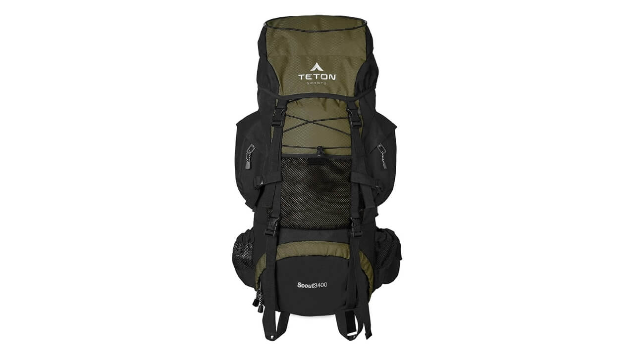 Teton Sports Scouts 3400 Best External Frame Backpack