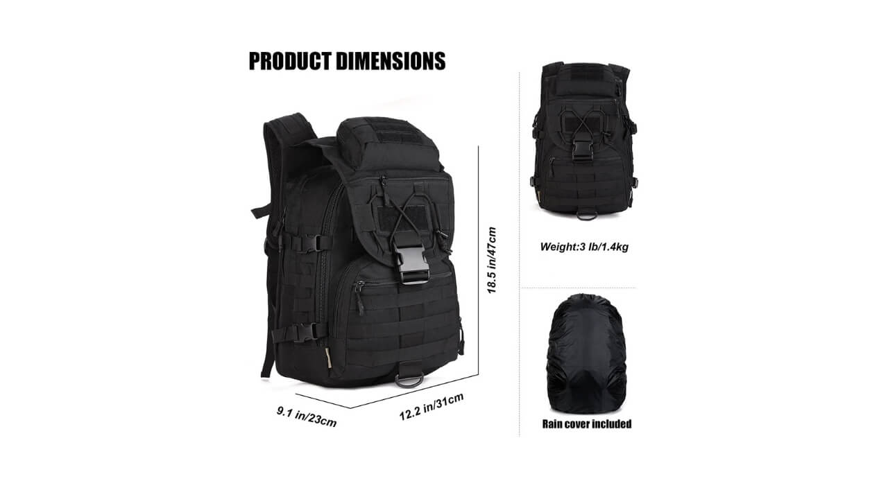 Arcenciel Survival Backpack