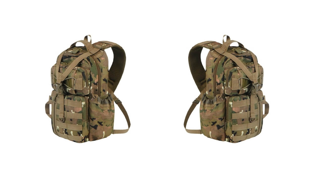 East West Crossbody Backpack