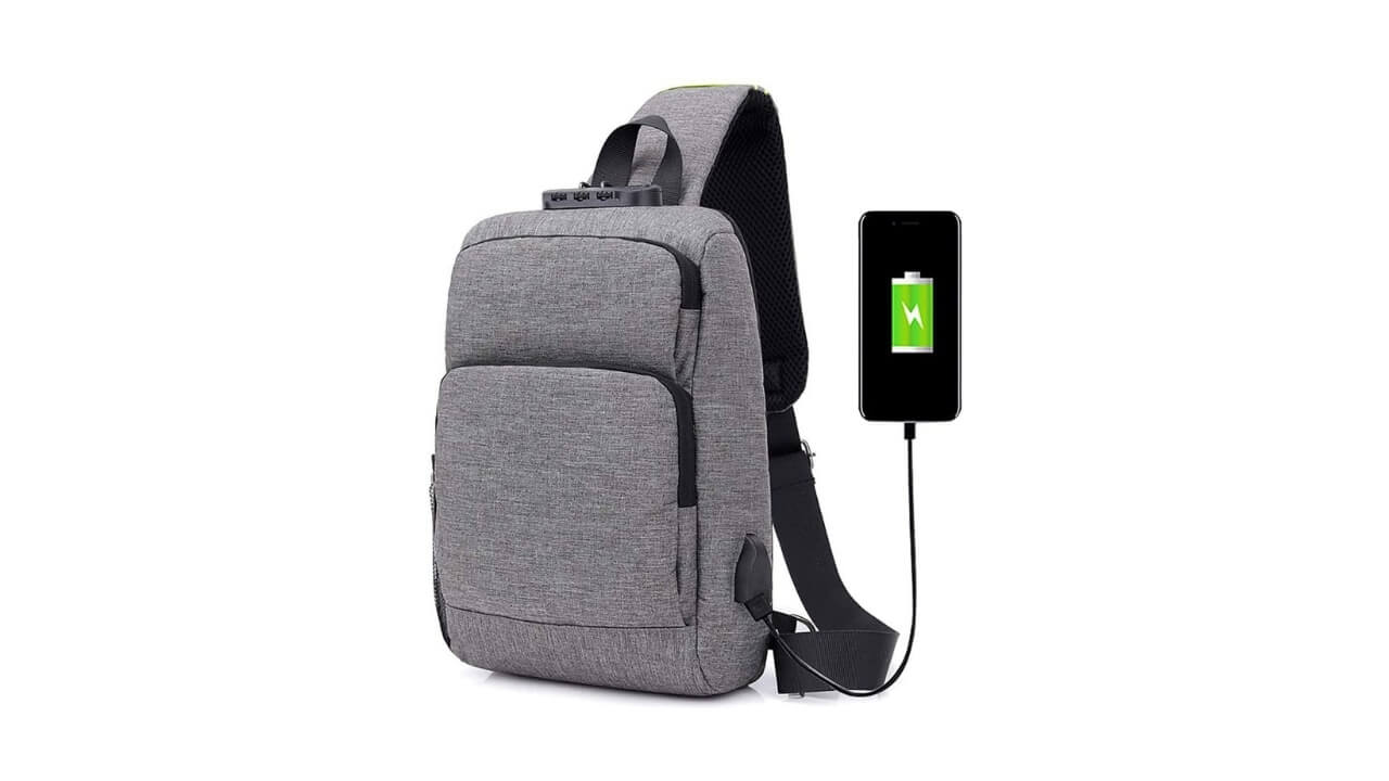 Sleeping Forest Best Single Strap Backpack