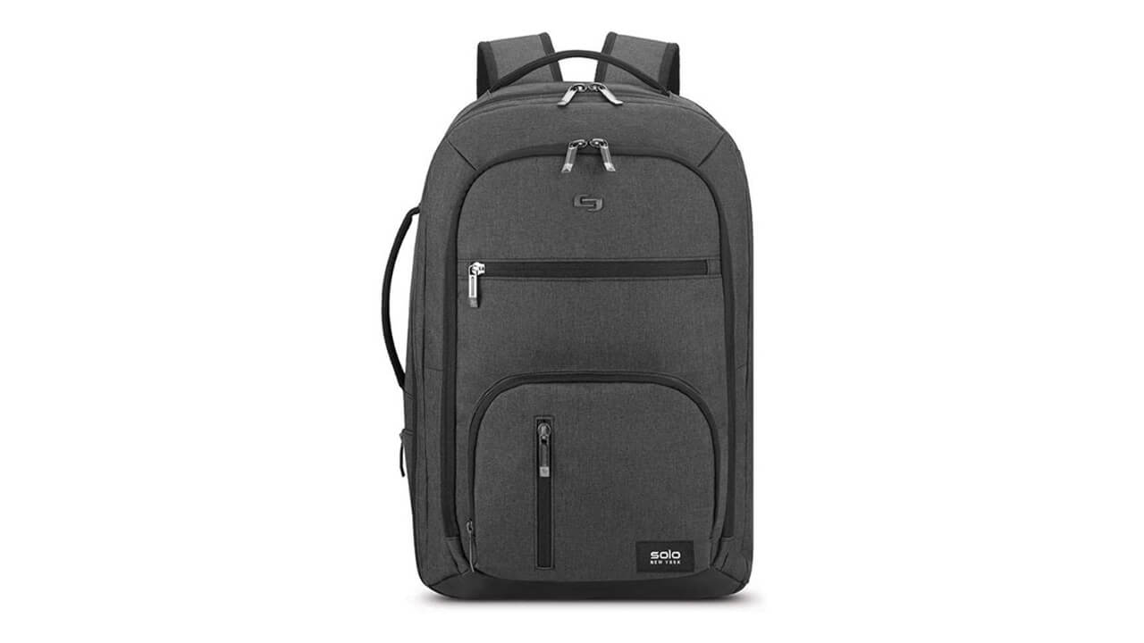Solo New York Grand Best Backpacks For Back Pain