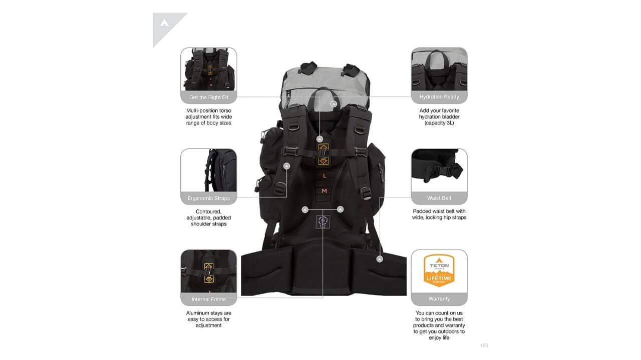 Teton Sports Explorer 4000 Backpack