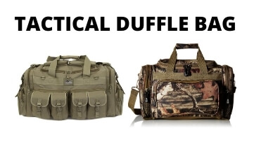 Best Tactical Duffle Bag