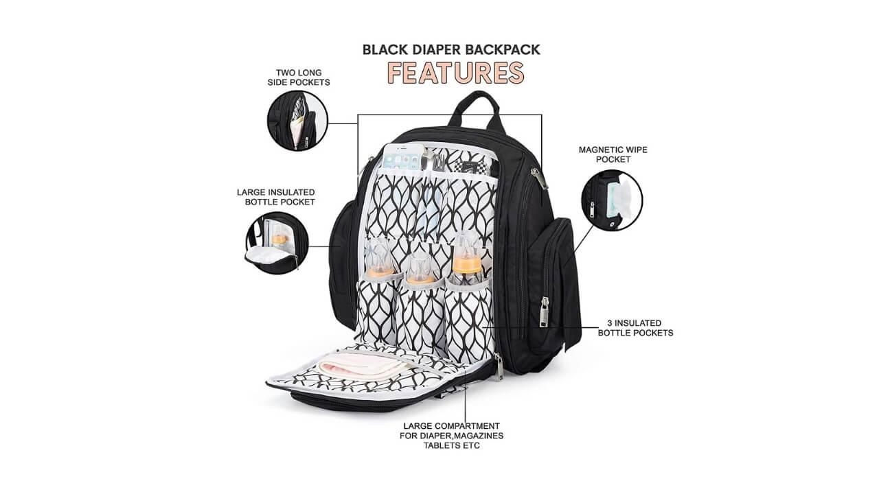 Blissly Diaper Bag