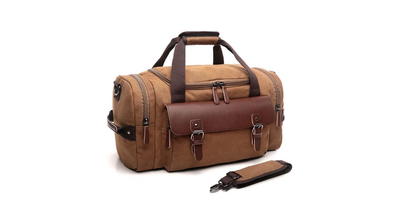 Crosslandy Canvas Best Tactical Duffle Bag