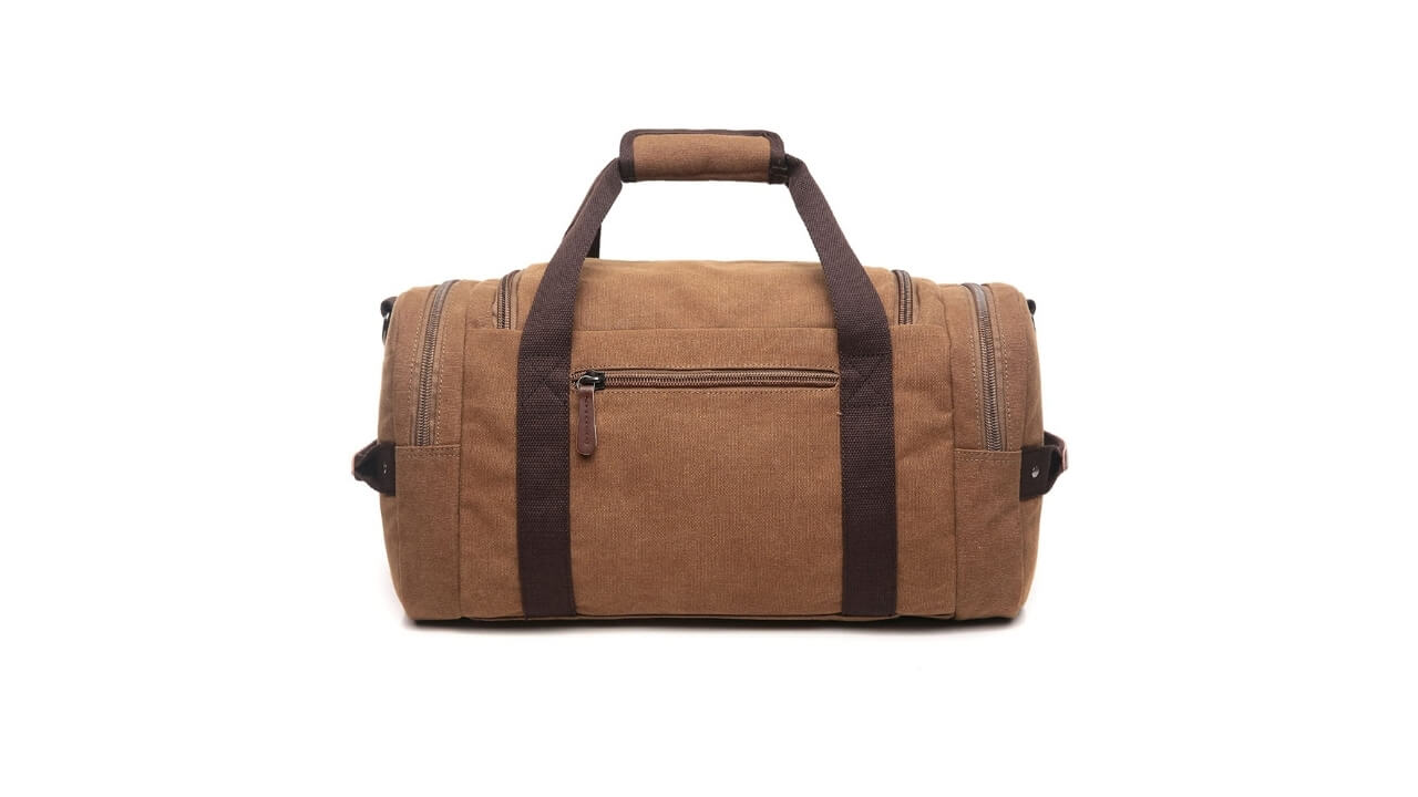 Crosslandy Canvas Tactical Duffle Bag