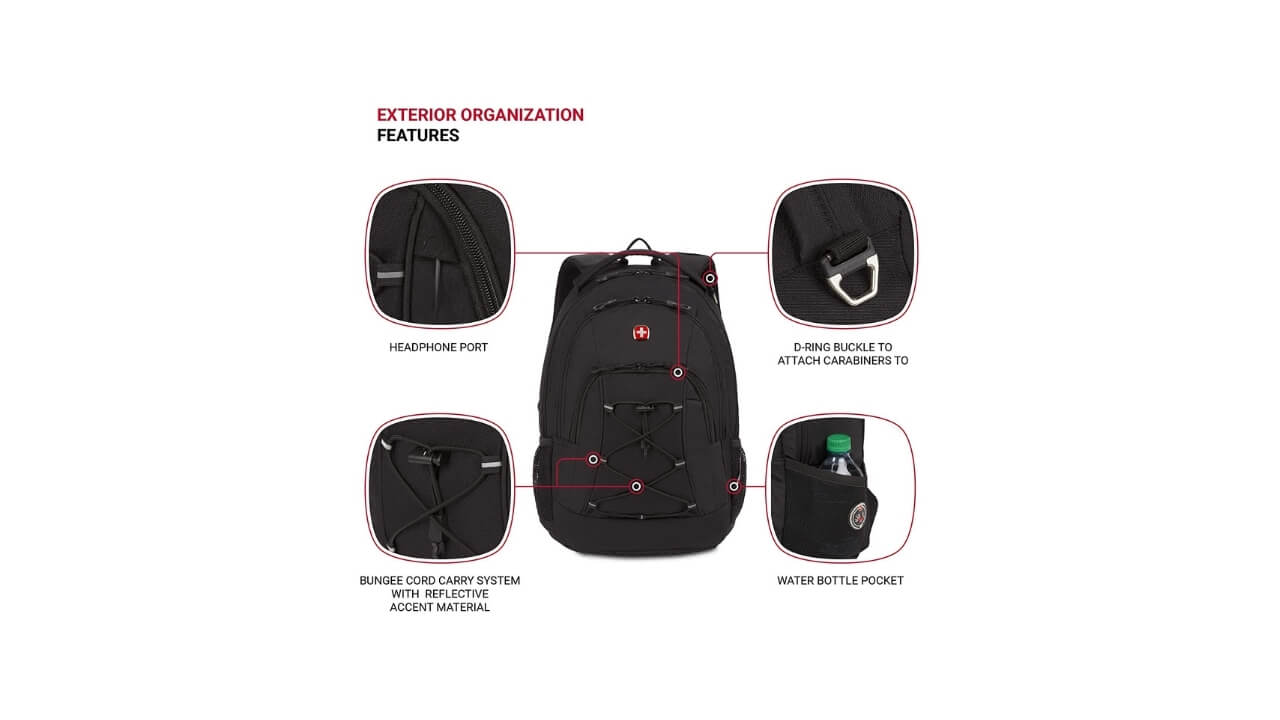 Swissgear Bungee Backpack For Medical School