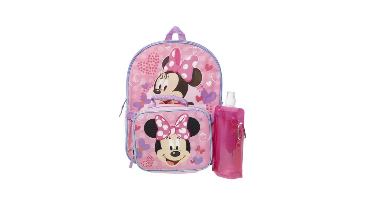 Minnie Mouse Kids Backpack, Best Toddler Backpack