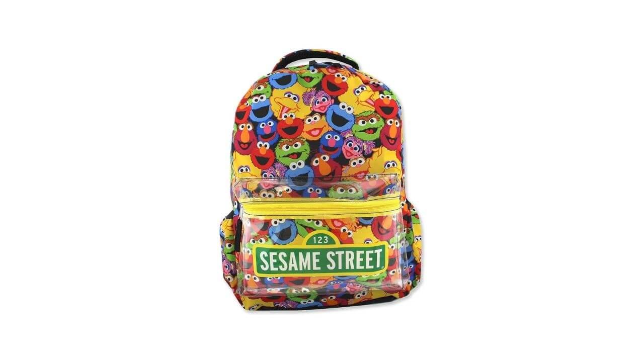 Sesame Street Backpack, Best Toddler Backpack