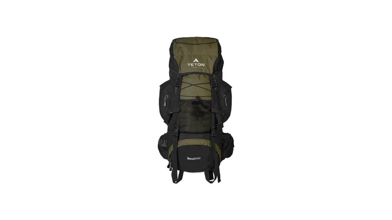 TETON Sports Scout 3400 External Frame Backpack